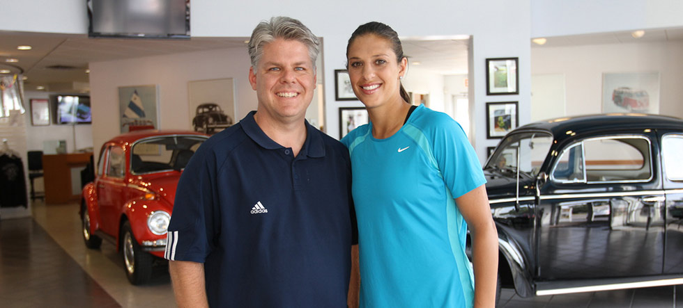 Olympian Carli Lloyd & Steve Acito of Bluewire Media